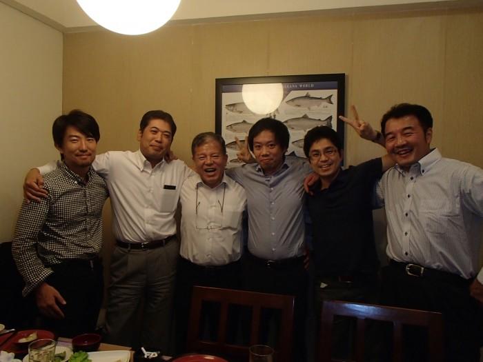 (左から北村さん、中村さん、酒井さん、峯さん、笹本、松島さん)